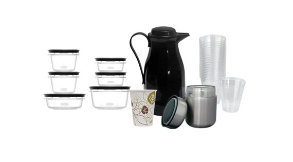 Cups, Bottles and Containers