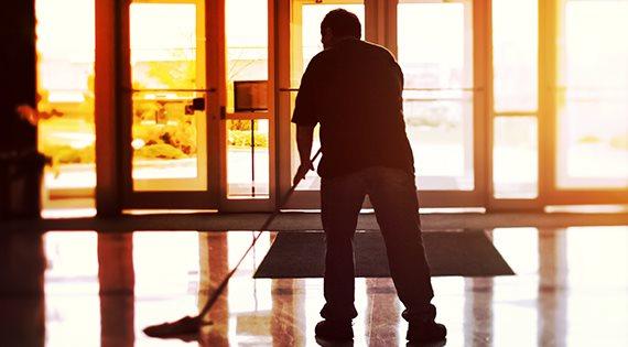 Réquisition nettoyage et entretien