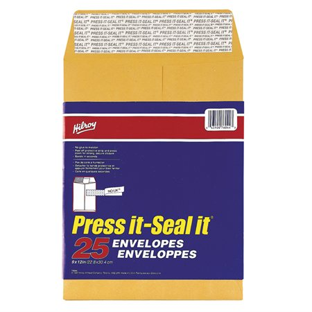 Enveloppe kraft Press-it Seal-it®