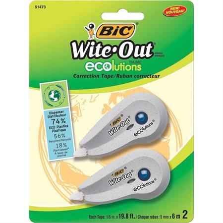Ruban correcteur mini Wite-out® ecolutions™