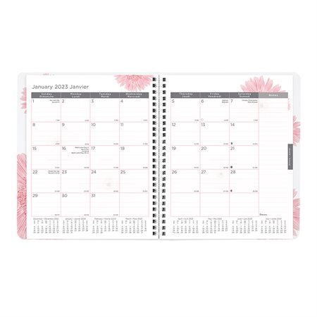 Pink Ribbon Monthly Diary (2019)