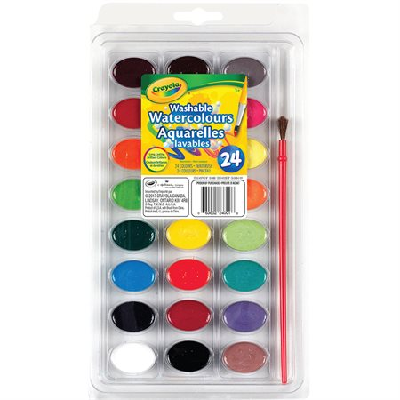 Washable Watercolour Paints
