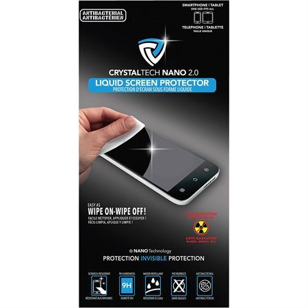 Protection d'écran liquide Crystaltech nano 2.0