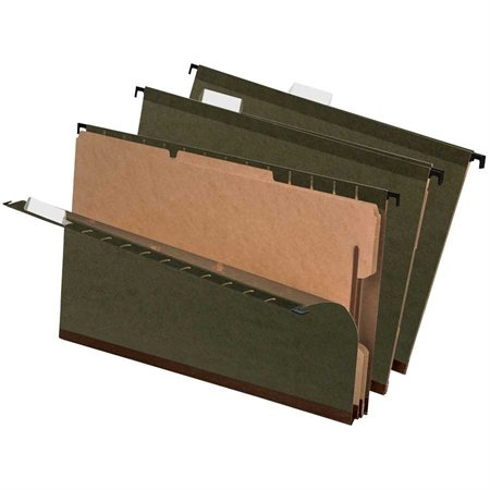 SureHook® Reinforced Hanging File Folders with Dividers