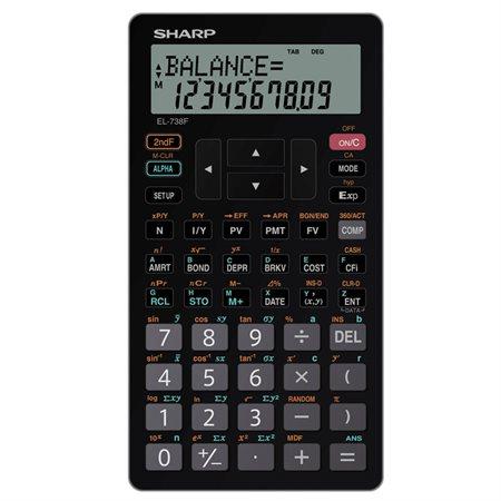 Calculatrice financière et scientifique EL-738FC