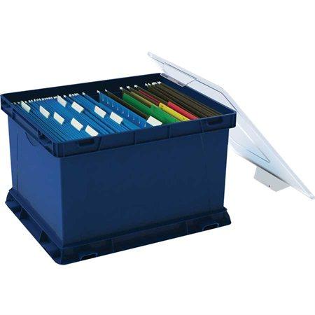 Boîte de rangement empilable