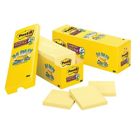 Post-It® Super Sticky Notes Cabinet Pack