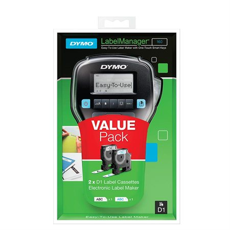 LabelManager 160 Labeller Value Pack