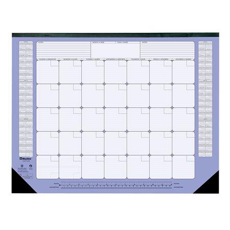 Monthly Perpetual Desk Pad Calendar