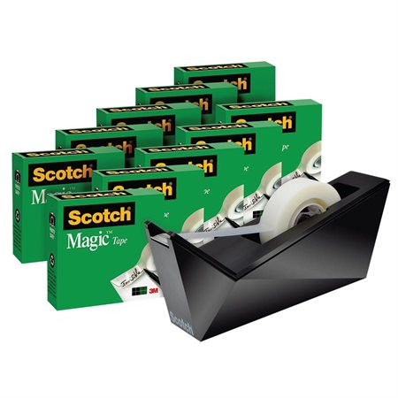 Bonus Pack of Scotch® Magic™ Tape and C-17 Dispenser