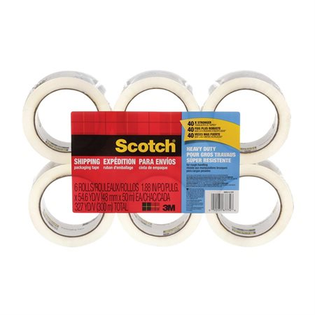 Scotch® Heavy Duty Shipping Tape