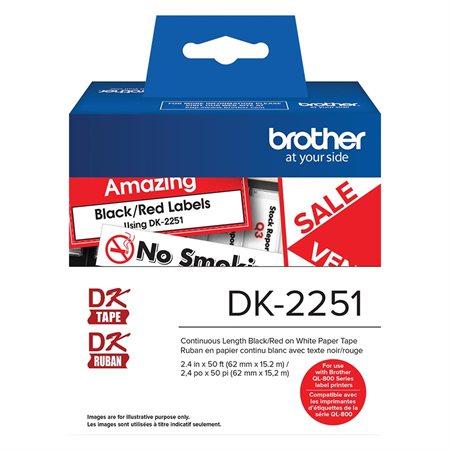 Étiquettes pour imprimante QL-800