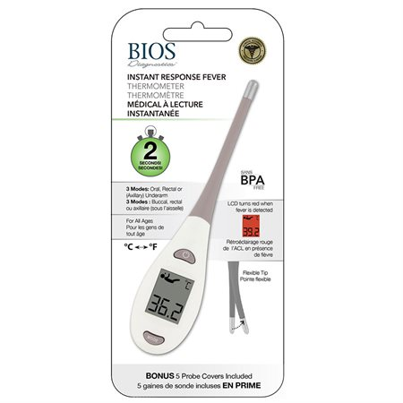 Instant Response Fever Thermometer