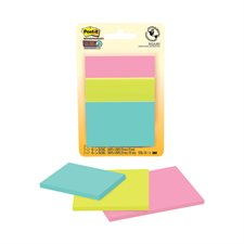 Feuillets Post-it® Super Sticky - collection Miami