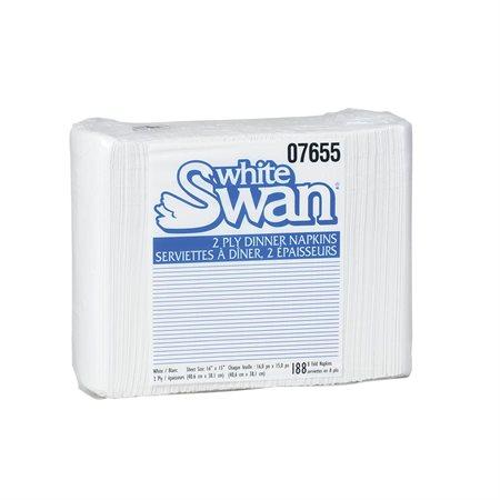 Serviettes White Swan®