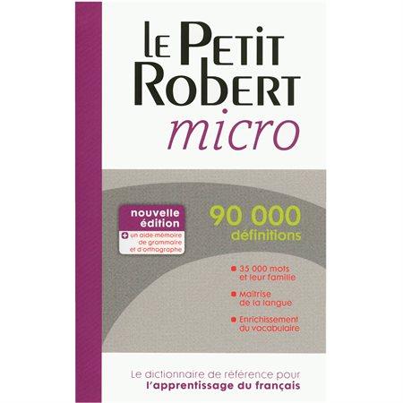 Dictionnaire Le Petit Robert micro