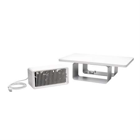 CoolView™ Wellness Monitor Stand with Desk Fan