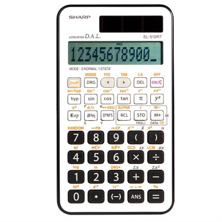 Calculatrice scientifique EL510RTB