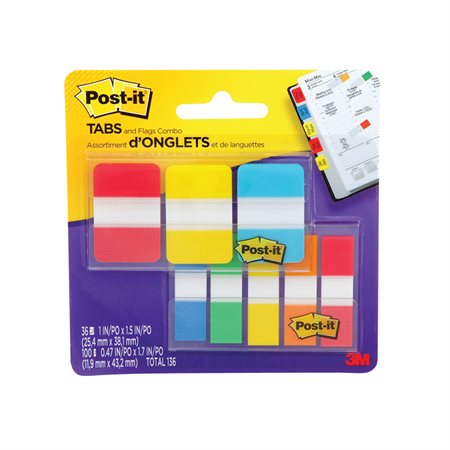 Post-it® Flags and Tabs Value Pack