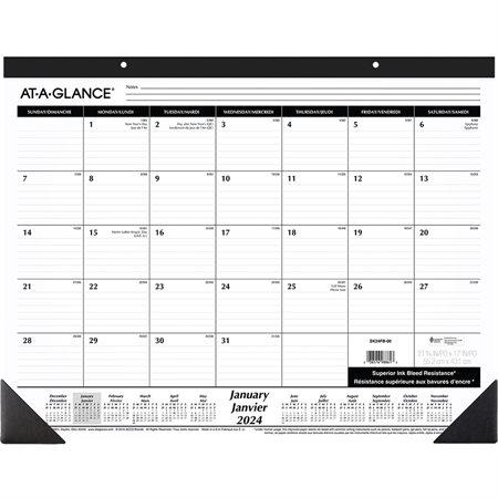 Monthly Desk Pad Calendar (2020)