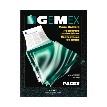 Pagex™ Transparent Page Holder