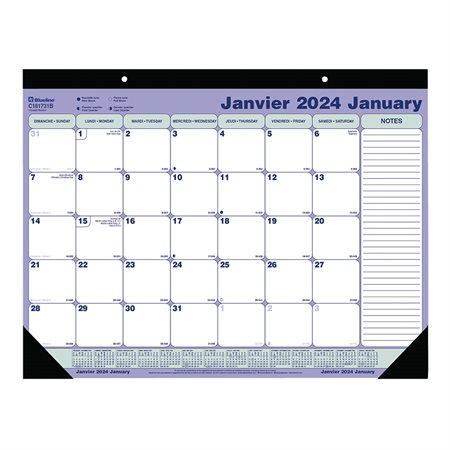 Monthly Desk Pad Calendar (2019)
