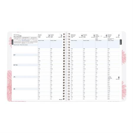 Agenda hebdomadaire Ruban rose Planifi-Action® (2021)