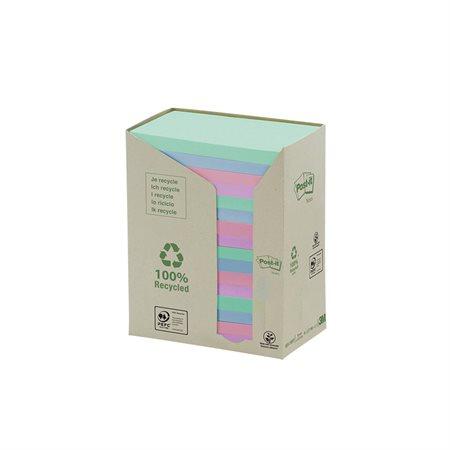 Feuillets autoadhésifs recyclés Post-it®