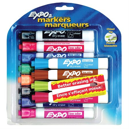 Expo® Low Odour Dry Erase Whiteboard Marker