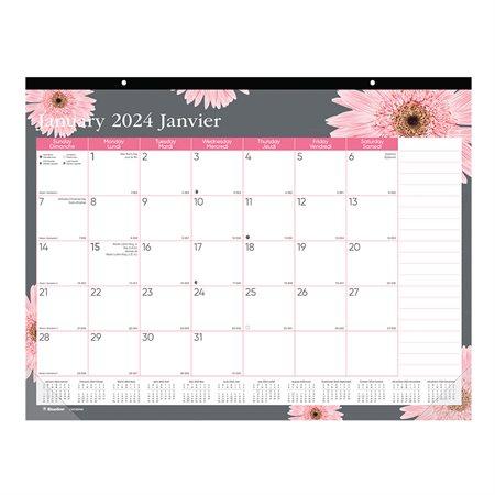 Calendrier sous-main mensuel Ruban rose (2020)