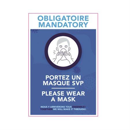 Mandatory Mask Poster