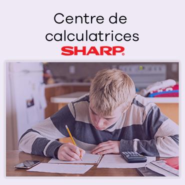 Centre de calculatrices Sharp